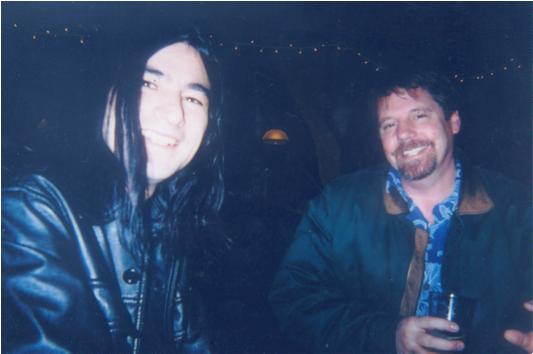JEFF GREENE and RON YOCOM hanging at THE OLD VIC in Santa Rosa