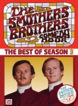 THE SMOTHERS BROTHERS COMEDY HOUR, The Best of Season Video Cover with DICK and TOMMY SMOTHERS pictured